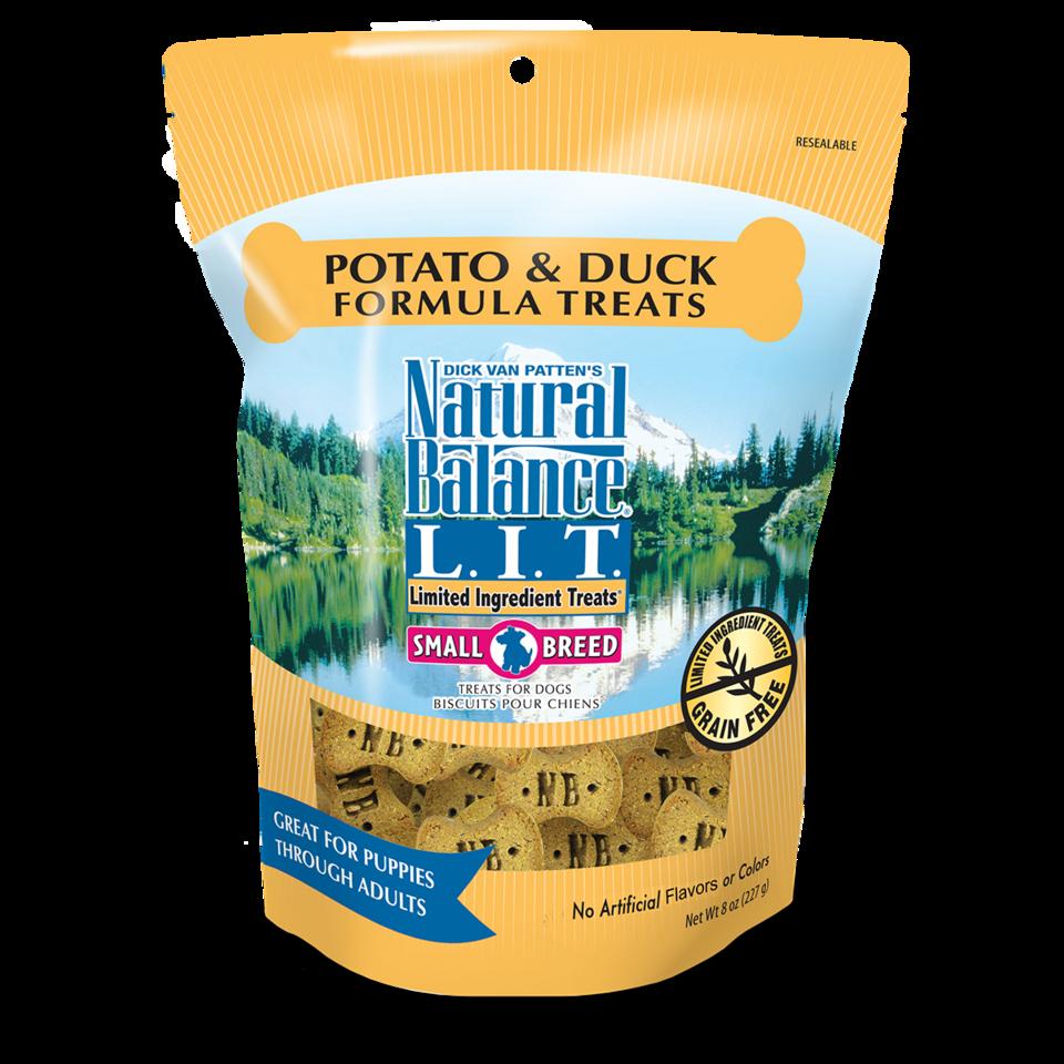 Natural Balance Natural Balance LIT Potato & Duck Dog Treats Small Breed 8oz