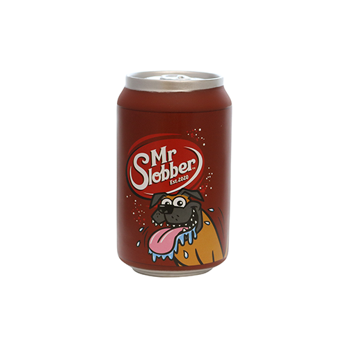 VIP Products Silly Squeakers Soda Can Mr. Slobber Dog Toy