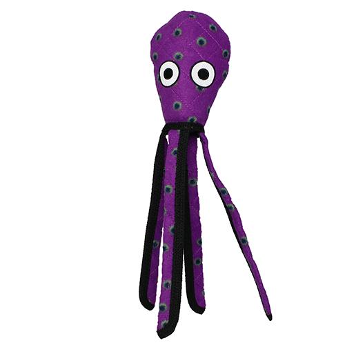 VIP Products VIP Tuffy Ocean Squid Dog Toy Purple