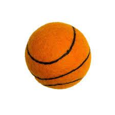 Himalayan Himalayan Felty Basketball Dog Toy