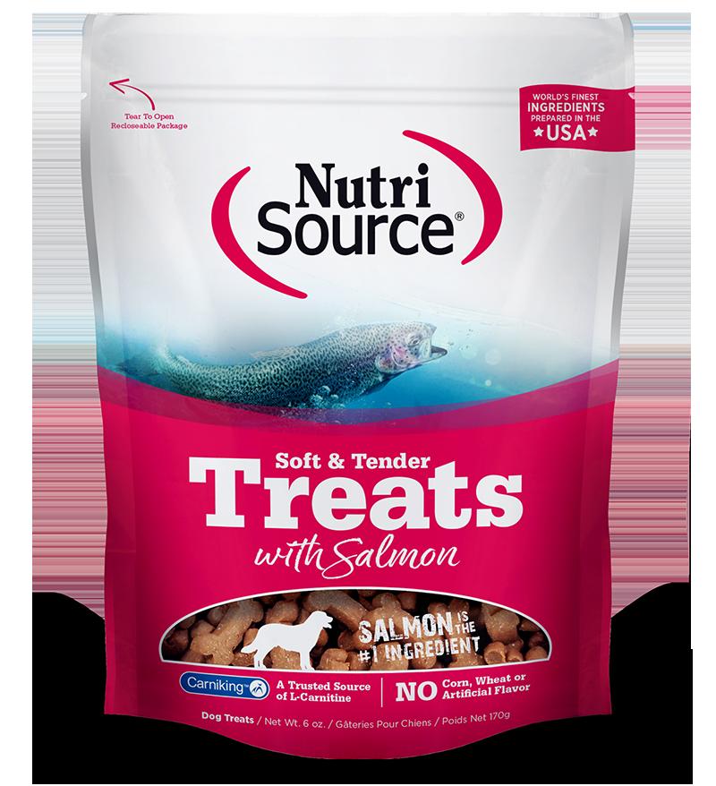 NutriSource NutriSource Soft & Tender Salmon Dog Treats 6oz