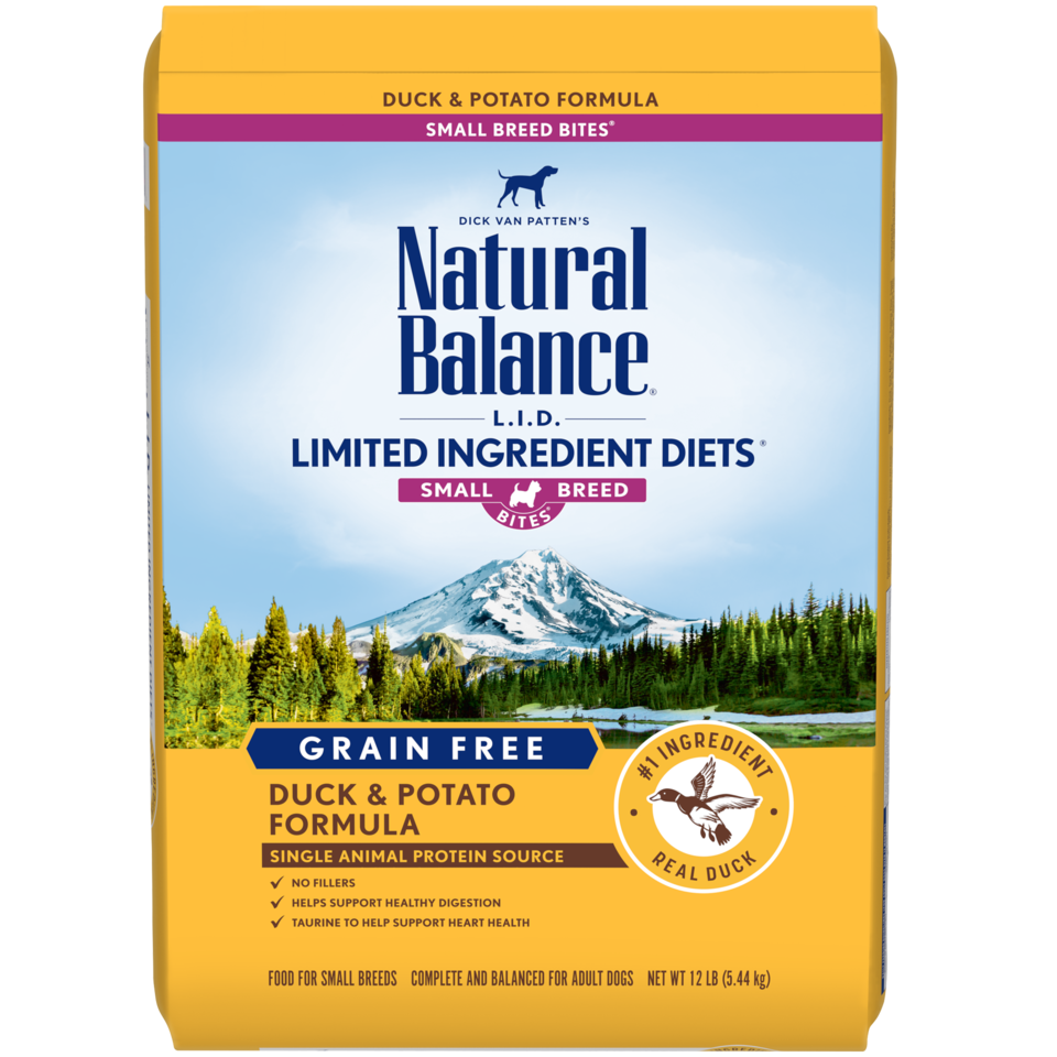 Natural Balance Natural Balance Limited Ingredient Diet Duck & Potato Small Breed Bites Dry Dog Food