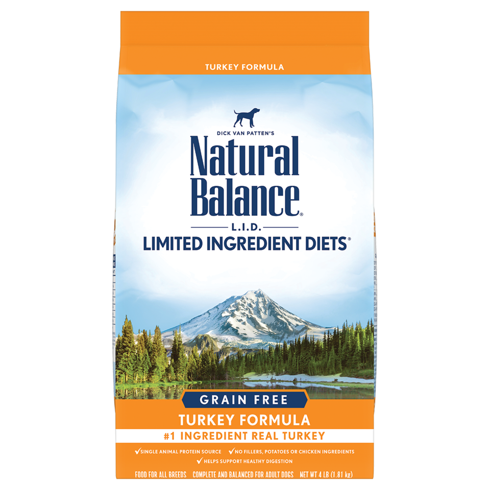 Natural Balance Natural Balance Limited Ingredient Diet Grain Free Turkey Dry Dog Food