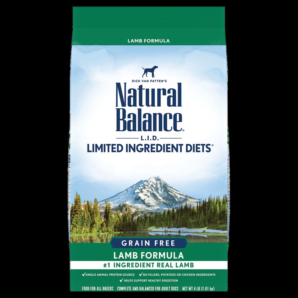 Natural Balance Natural Balance Limited Ingredient Diet Grain Free Lamb Dry Dog Food