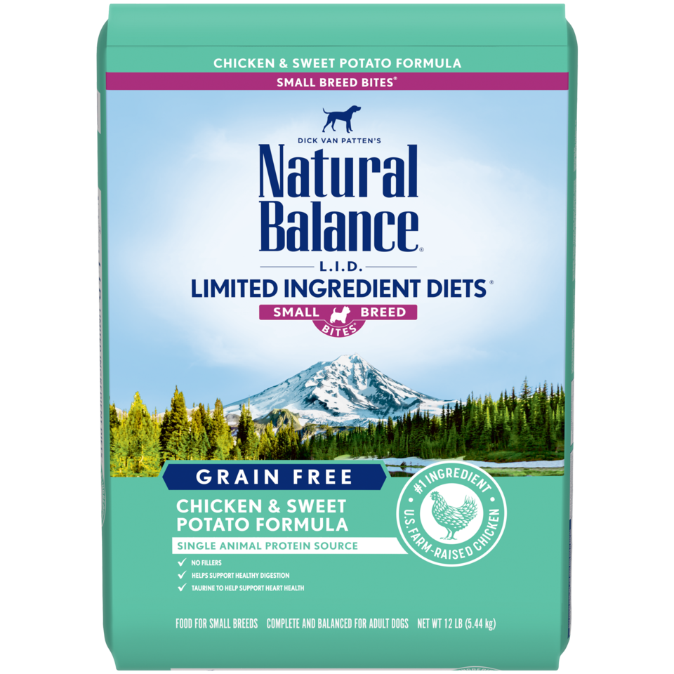 Natural Balance Natural Balance Limited Ingredient Diet Chicken & Sweet Potato Small Breed Bites Dry Dog Food