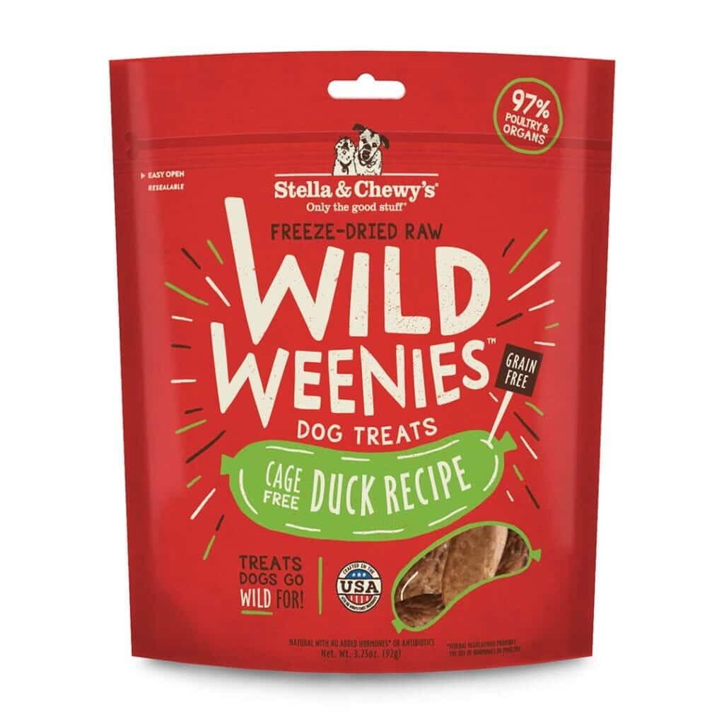 Stella & Chewy's Stella & Chewy's Wild Weenies Duck Freeze Dried Dog Treat 3.25oz