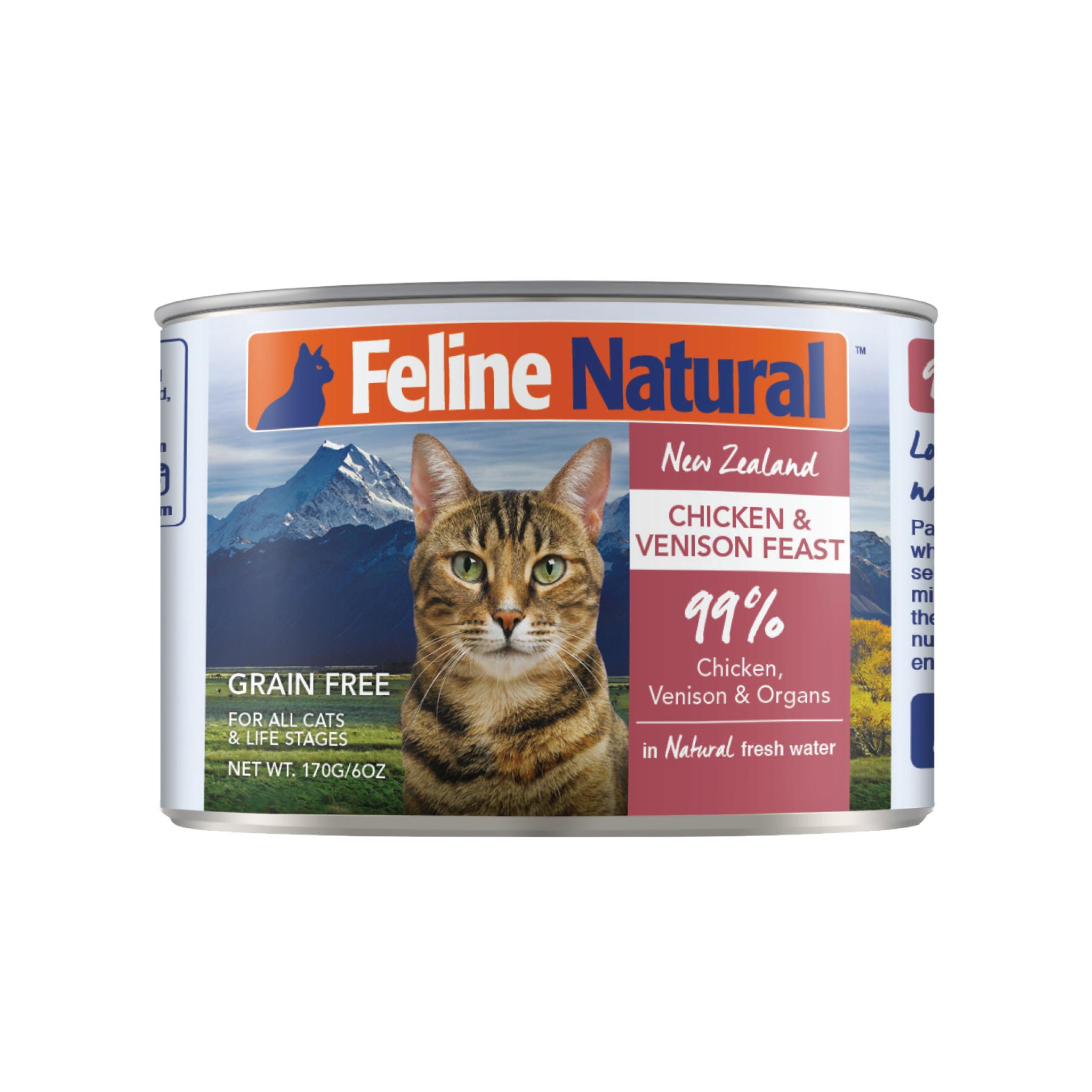 Feline Natural Feline Natural Chicken & Venison Feast Wet Cat Food 3oz