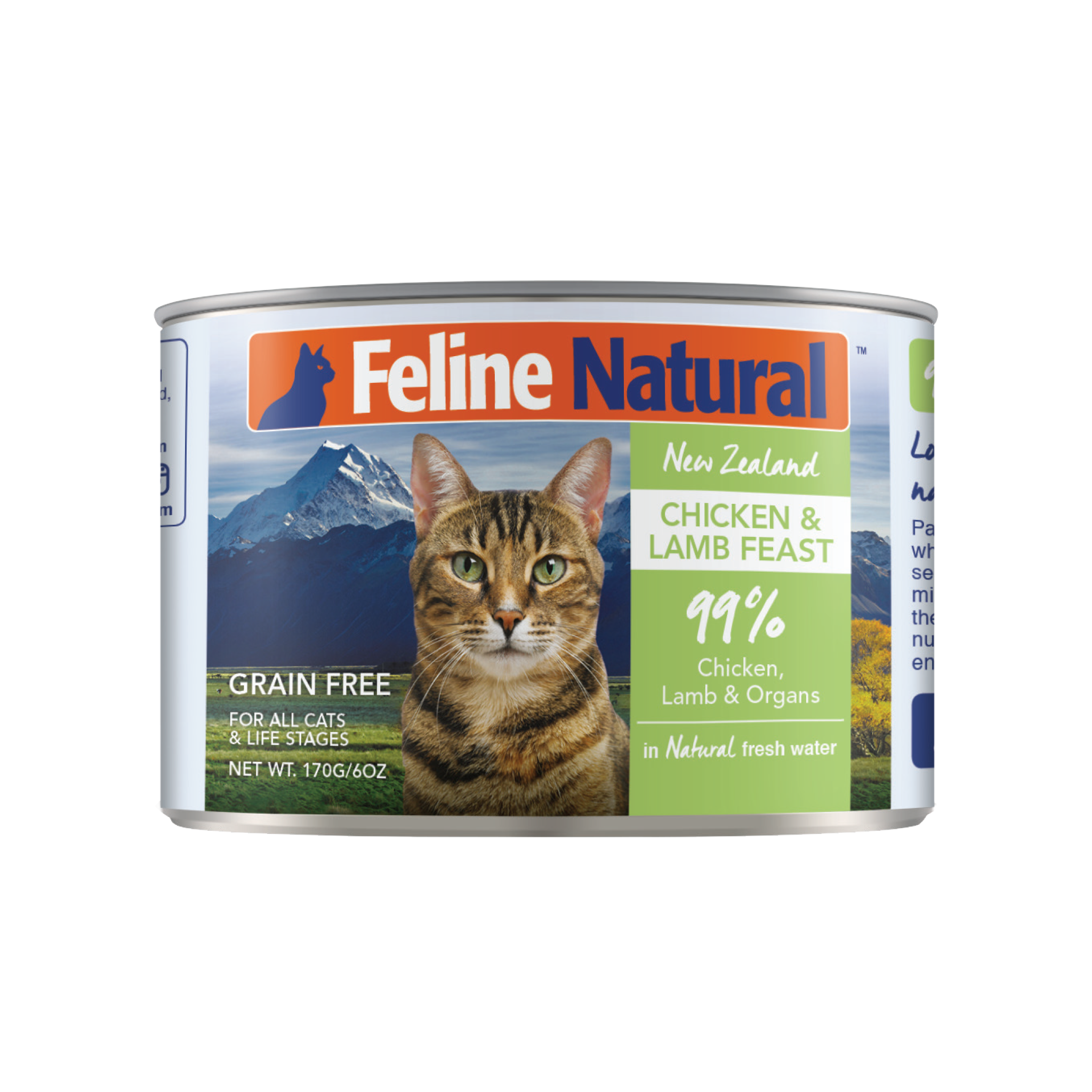 Feline Natural Feline Natural Chicken & Lamb Feast Wet Cat Food 3oz