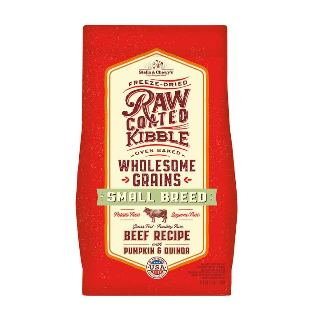 Stella & Chewy's Stella & Chewy's Raw Coated Wholesome Grains Small Breed Beef, Pumpkin & Quinoa Dry Dog Food