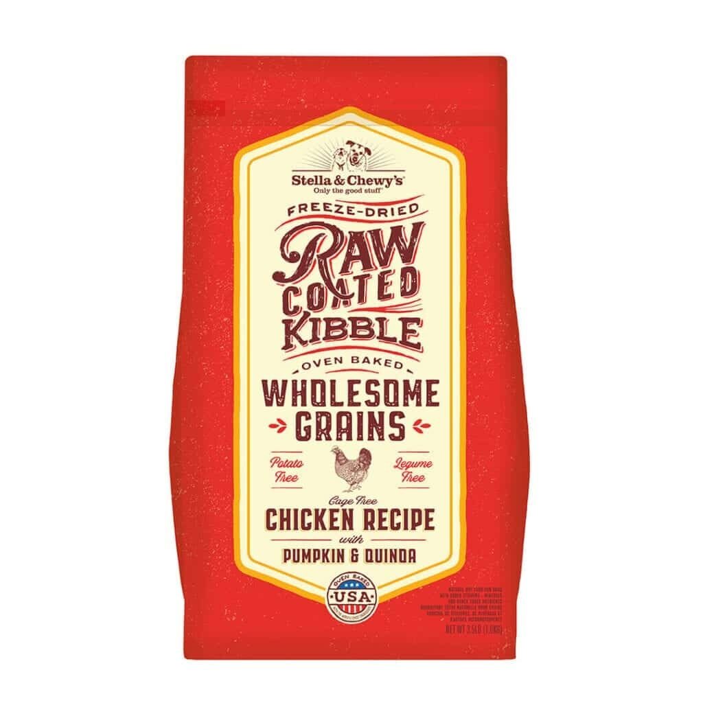 Stella & Chewy's Stella & Chewy's Raw Coated Wholesome Grains Chicken, Pumpkin & Quinoa Dry Dog Food