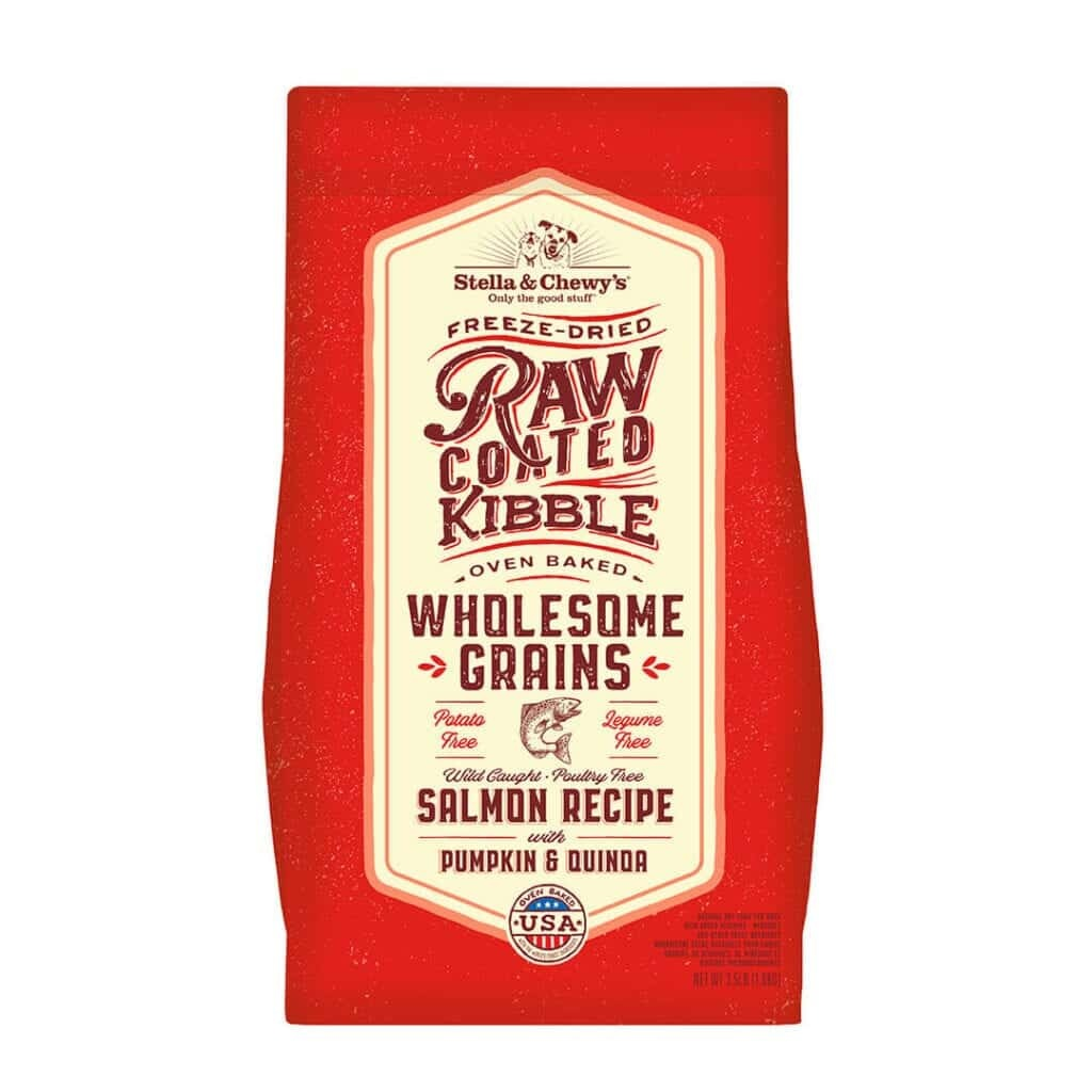 Stella & Chewy's Stella & Chewy's Raw Coated Wholesome Grains Salmon, Pumpkin & Quinoa Dry Dog Food