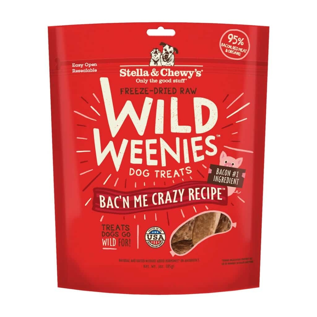 Stella & Chewy's Stella & Chewy's Wild Weenies Bac'n Me Crazy Freeze Dried Dog Treats