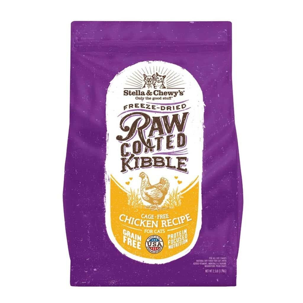 Stella & Chewy's Stella & Chewy's Raw Coated Chicken Dry Cat Food