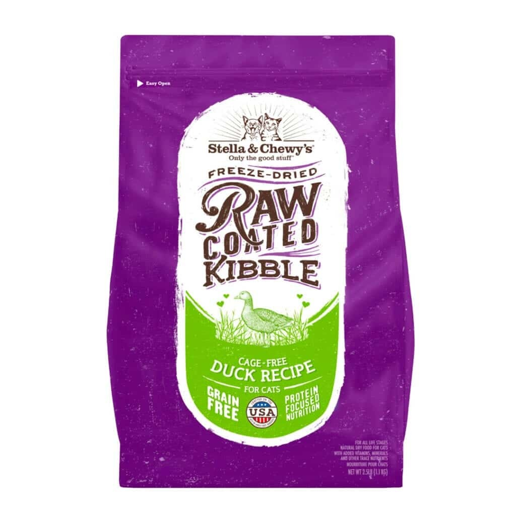 Stella & Chewy's Stella & Chewy's Raw Coated Duck Dry Cat Food