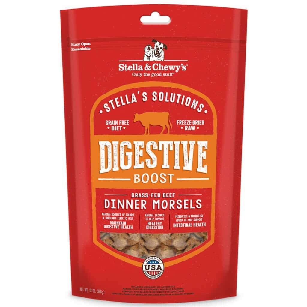 Stella & Chewy's Stella & Chewy's Stella Solutions Dinner Morsels Digestive Boost Chicken Freeze Dried Cat Food 7.5oz