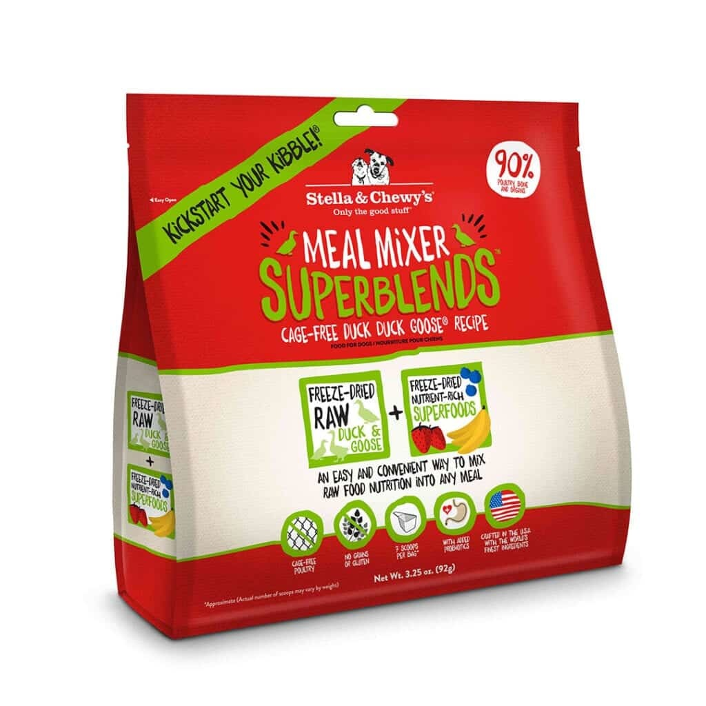 Stella & Chewy's Stella & Chewy's Freeze Dried Superblends Meal Mixers Duck Duck Goose Dog Food