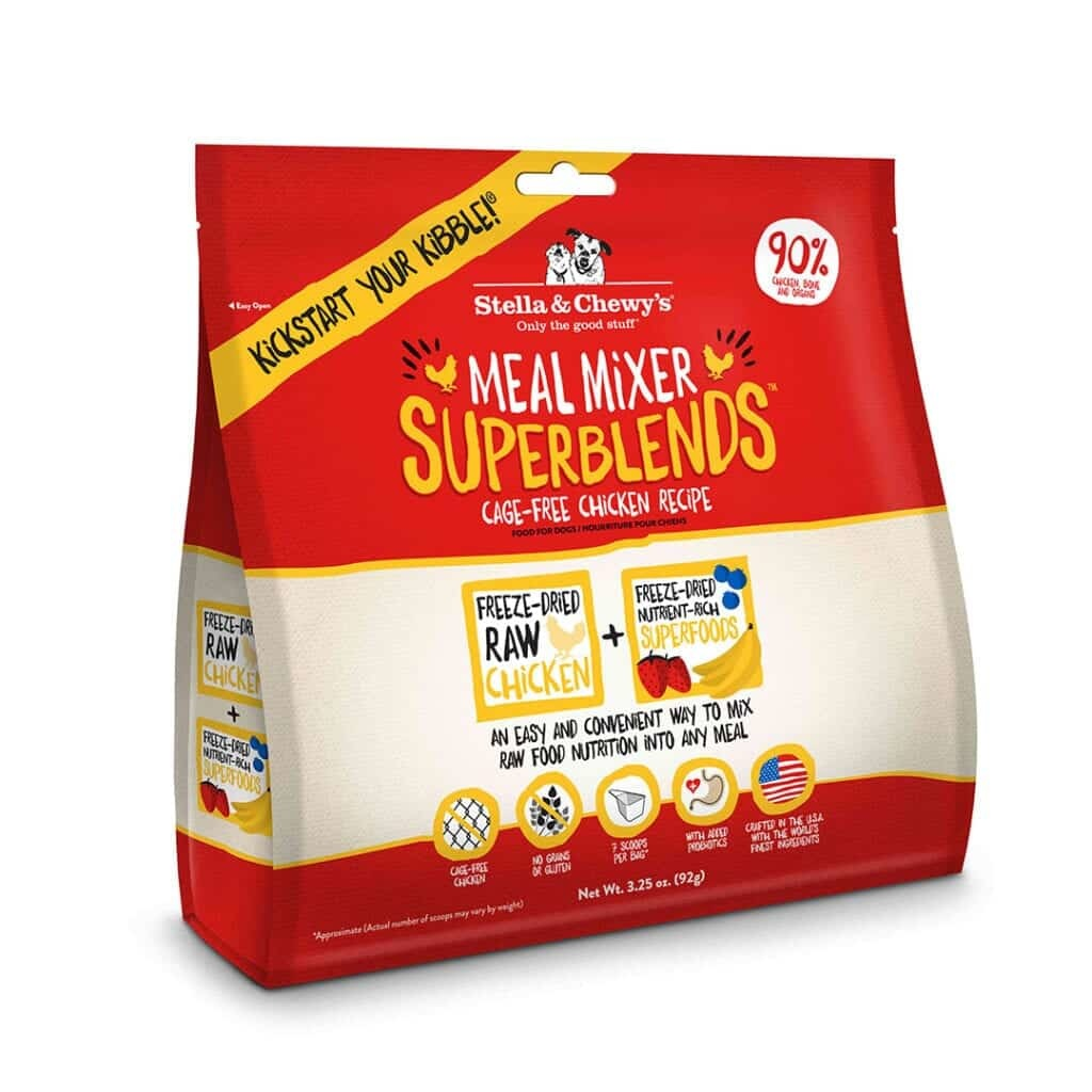 Stella & Chewy's Stella & Chewy's Freeze Dried Superblends Meal Mixers Cage Free Chicken Dog Food