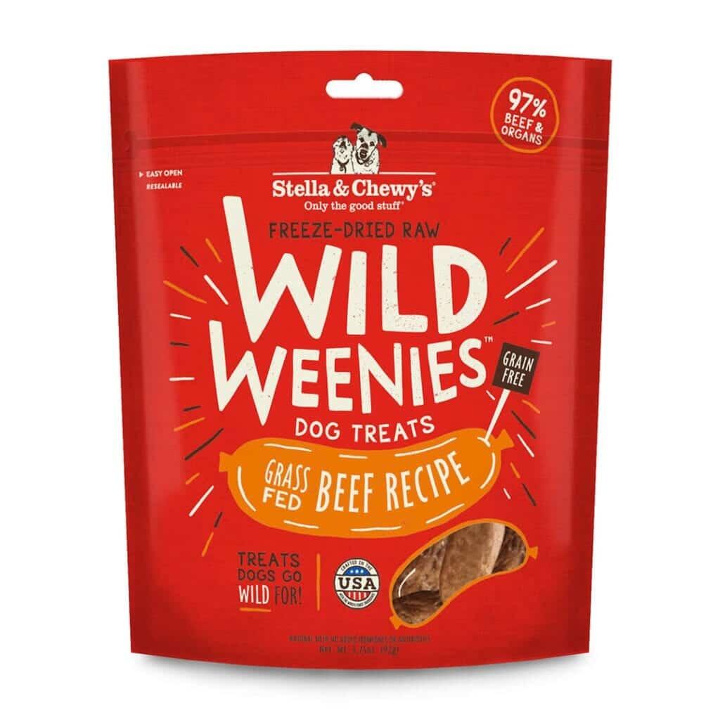 Stella & Chewy's Stella & Chewy's Wild Weenies Beef Freeze Dried Dog Treats