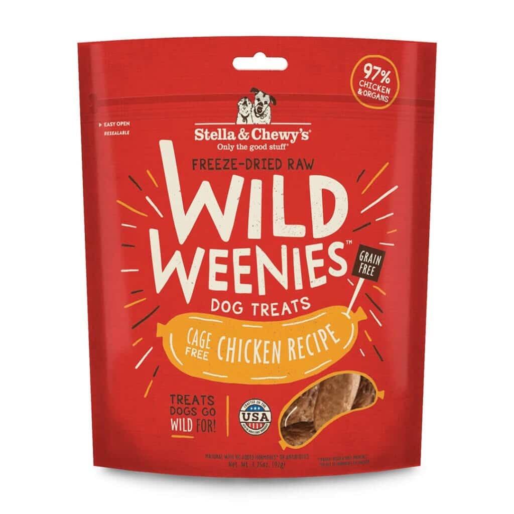 Stella & Chewy's Stella & Chewy's Wild Weenies Chicken Freeze Dried Dog Treat