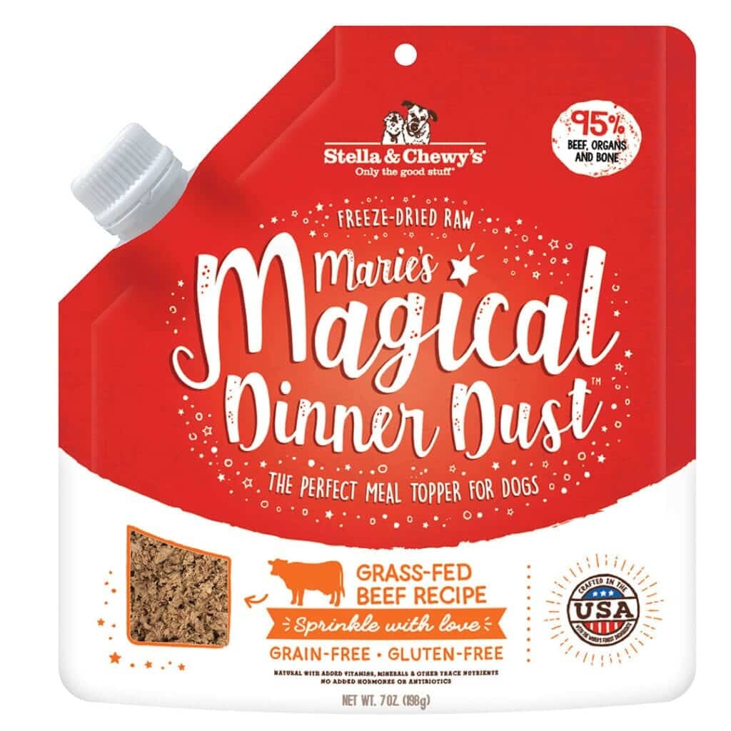 Stella & Chewy's Stella & Chewy's Marie's Magical Dinner Dust Meal Topper Beef Dog 7oz