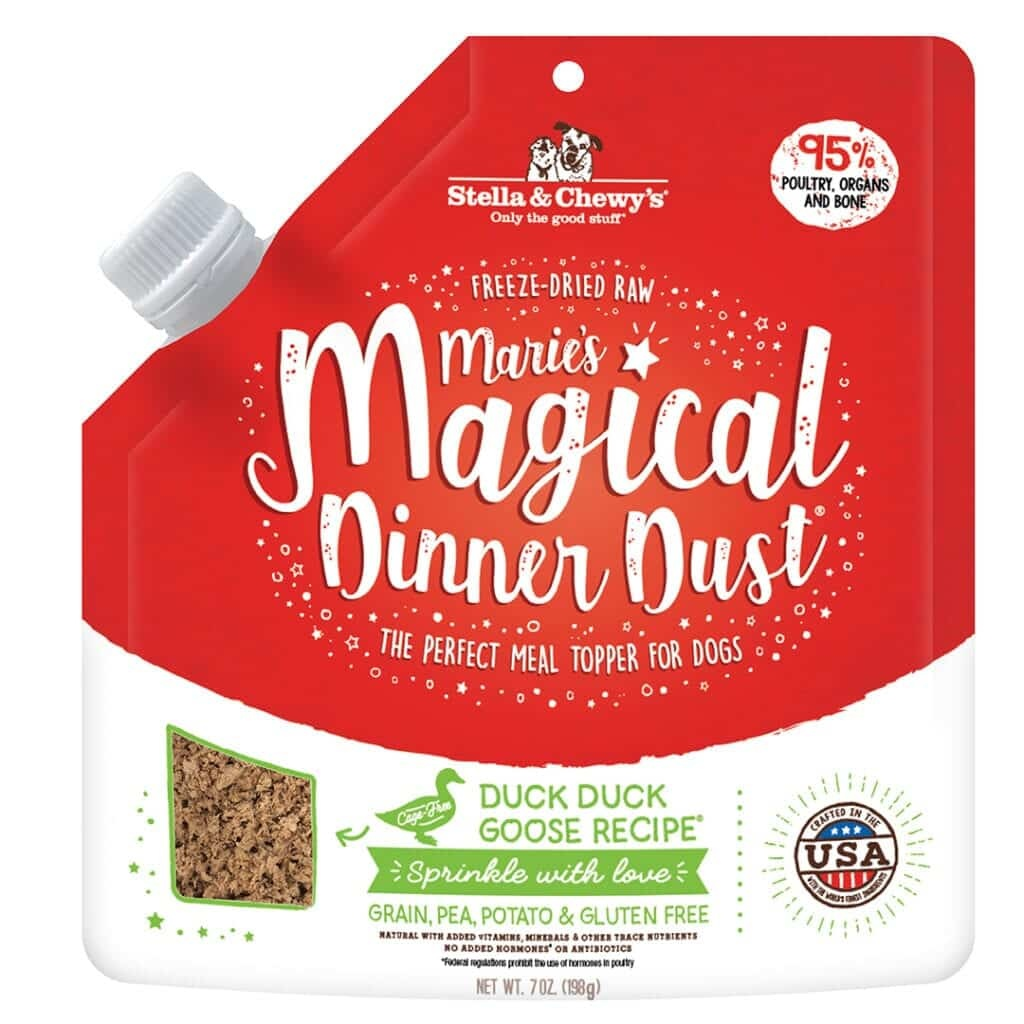 Stella & Chewy's Stella & Chewy's Marie's Magical Dinner Dust Meal Topper Duck Dog 7oz