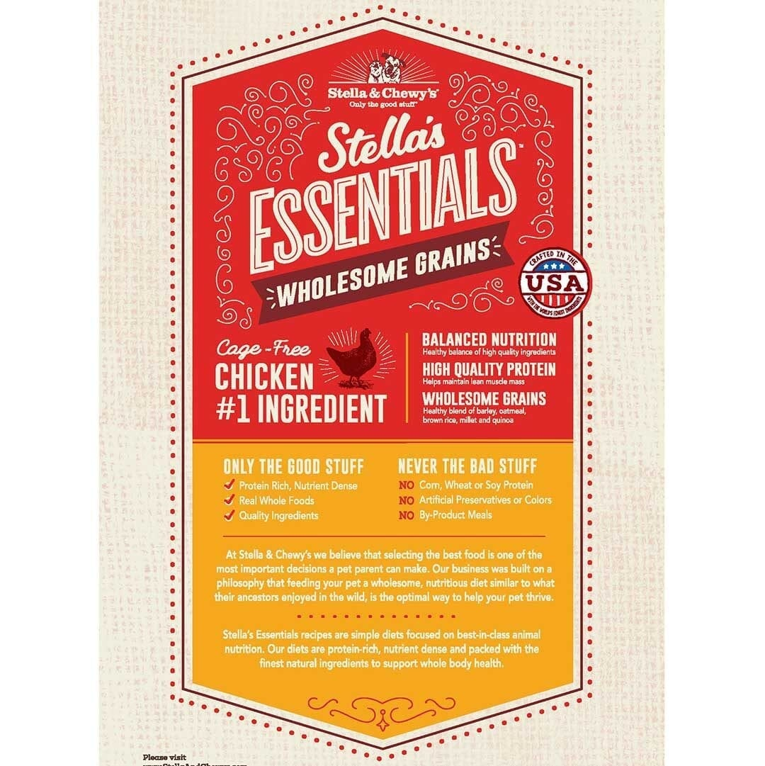 Stella & Chewy's Stella & Chewy's Essentials Cage-Free Chicken with Ancient Grains Dog Food