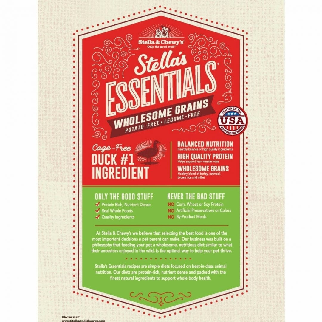 Stella & Chewy's Stella & Chewy's Essentials Duck with Ancient Grains Dog Food