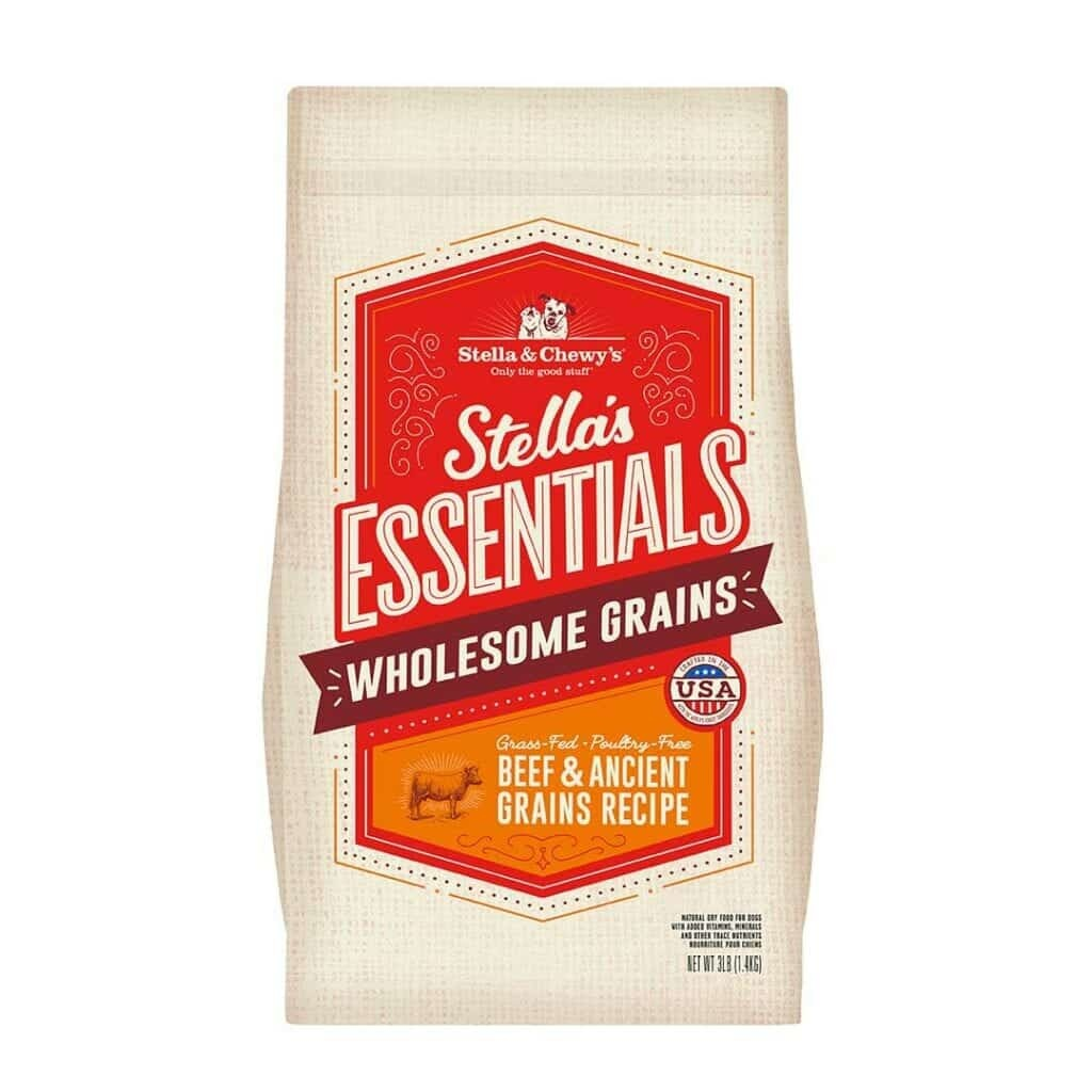 Stella & Chewy's Stella & Chewy's Essentials Grass-Fed Beef with Ancient Grains Dog Food