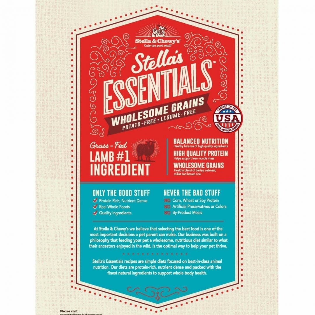 Stella & Chewy's Stella & Chewy's Essentials Lamb with Ancient Grains Dog Food