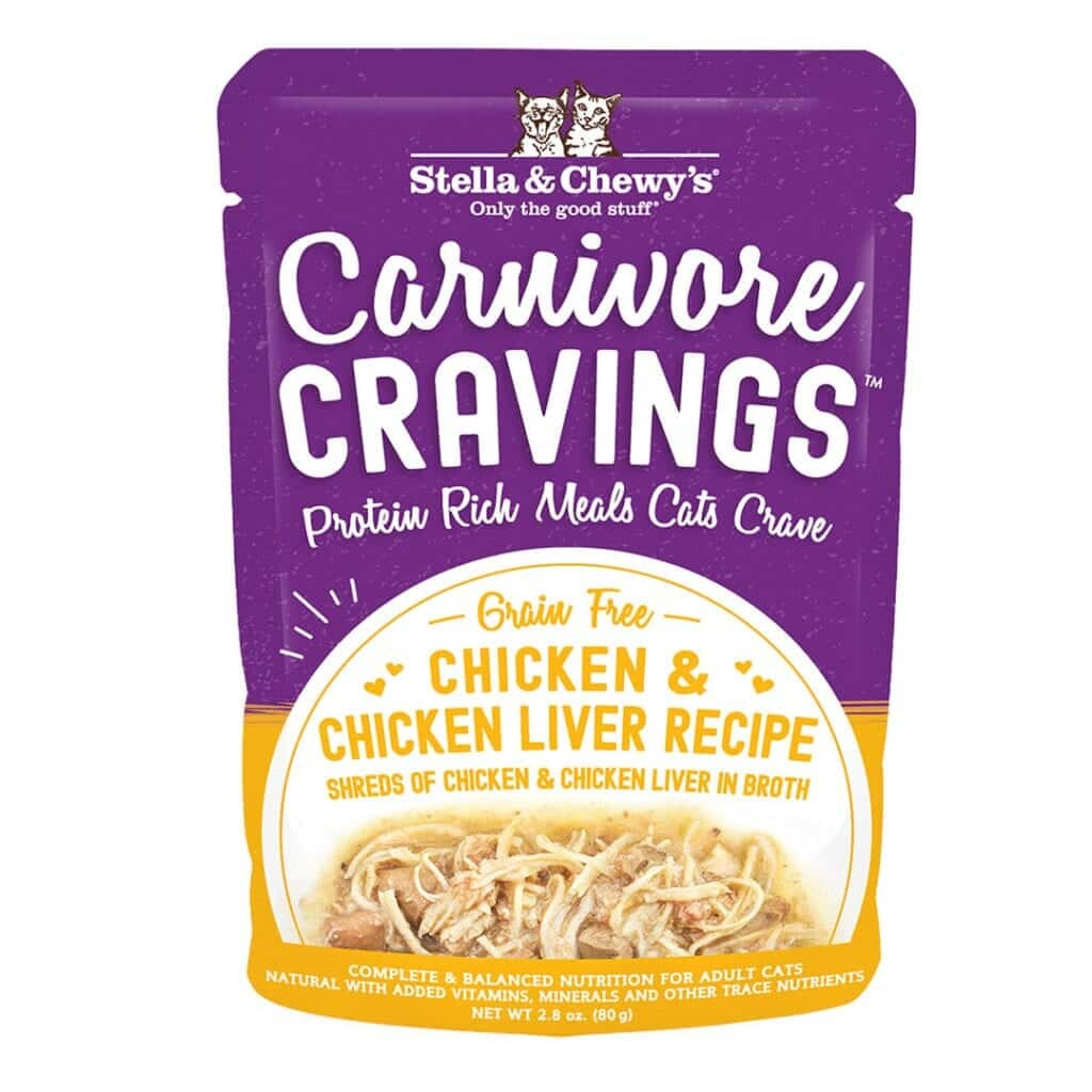Stella & Chewy's Stella & Chewy's Carnivore Cravings Chicken and Liver Wet Cat Food 2.8oz