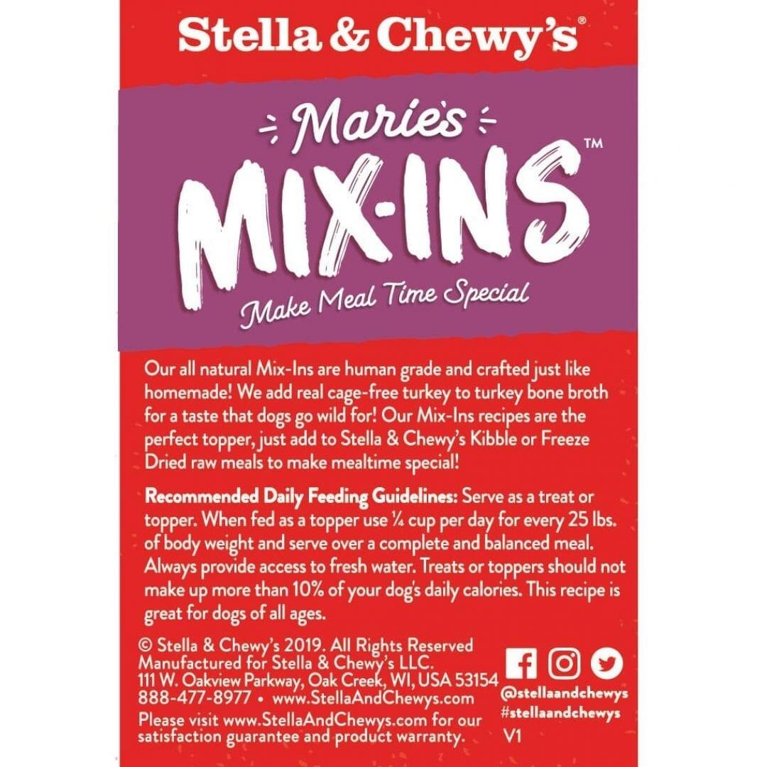 Stella & Chewy's Stella & Chewy's Marie's Mix-Ins Turkey & Pumpkin Pouch Wet Dog Food 5.5oz