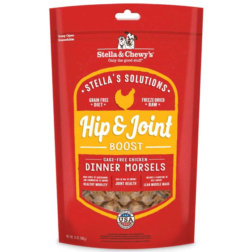 Stella & Chewy's Stella & Chewy's Stella Solutions Freeze Dried Dinner Morsels Hip & Joint Boost Chicken Dog Food 13oz