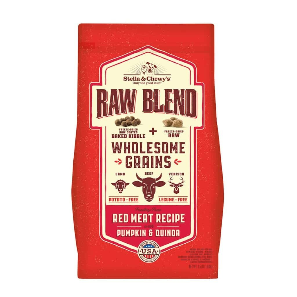 Stella & Chewy's Stella & Chewy's Raw Blend Wholesome Grains Red Meat Recipe with Pumpkin & Quinoa Dry Dog Food
