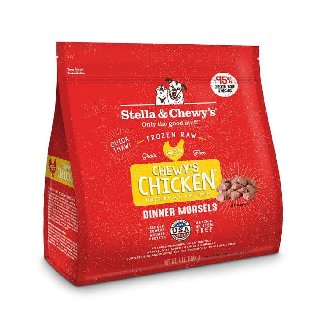 Stella & Chewy's Stella & Chewy's Raw Dinner Morsels Chewy's Chicken Dog Food 4#