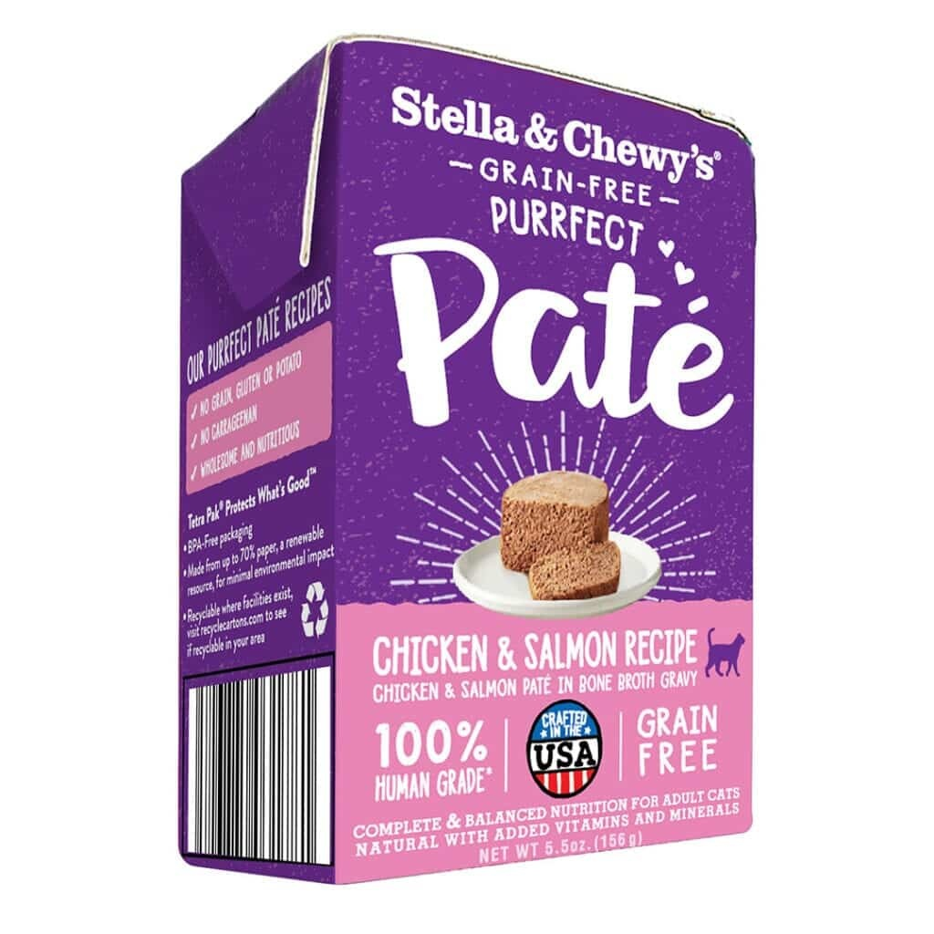 Stella & Chewy's Stella & Chewy's Purrfect Pate Chicken & Salmon Wet Cat Food 5.5oz