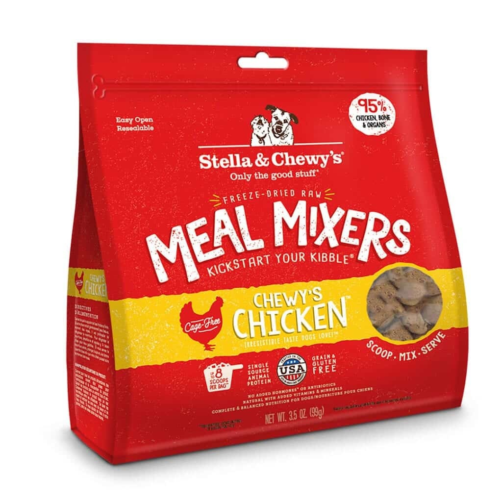 Stella & Chewy's Stella & Chewy's Freeze Dried Meal Mixers Chewy's Chicken Dog