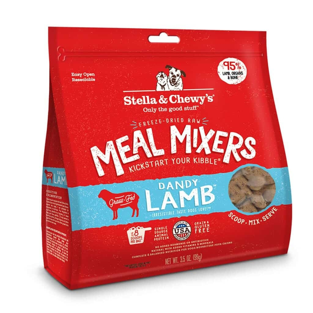 Stella & Chewy's Stella & Chewy's Meal Mixers Dandy Lamb Freeze Dried Dog Food