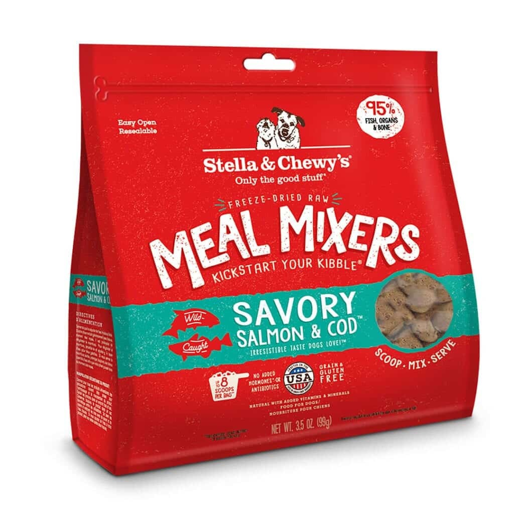 Stella & Chewy's Stella & Chewy's Freeze Dried Meal Mixers Savory Salmon & Cod Dog