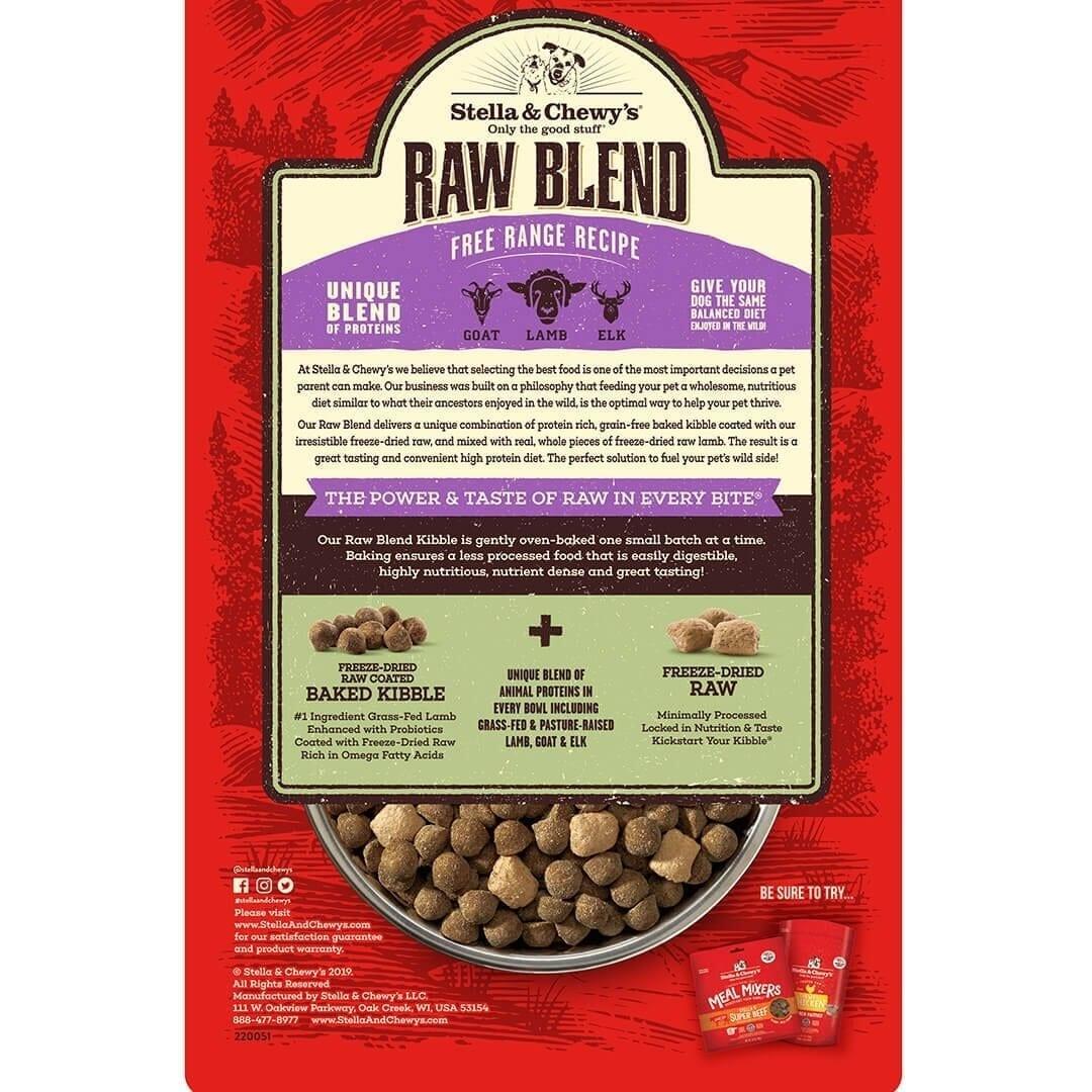 Stella & Chewy's Stella & Chewy's Raw Blend Free Range Dry Dog Food