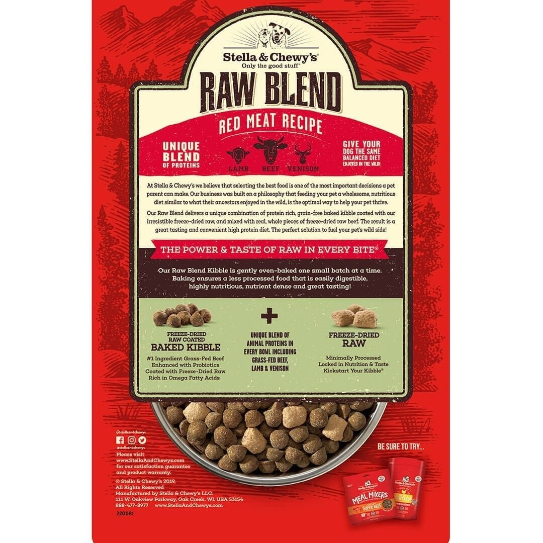 Stella & Chewy's Stella & Chewy's Raw Blend Red Meat Dry Dog Food