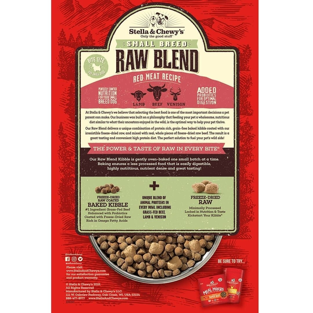 Stella & Chewy's Stella & Chewy's Raw Blend Small Breed Red Meat Dry Dog Food