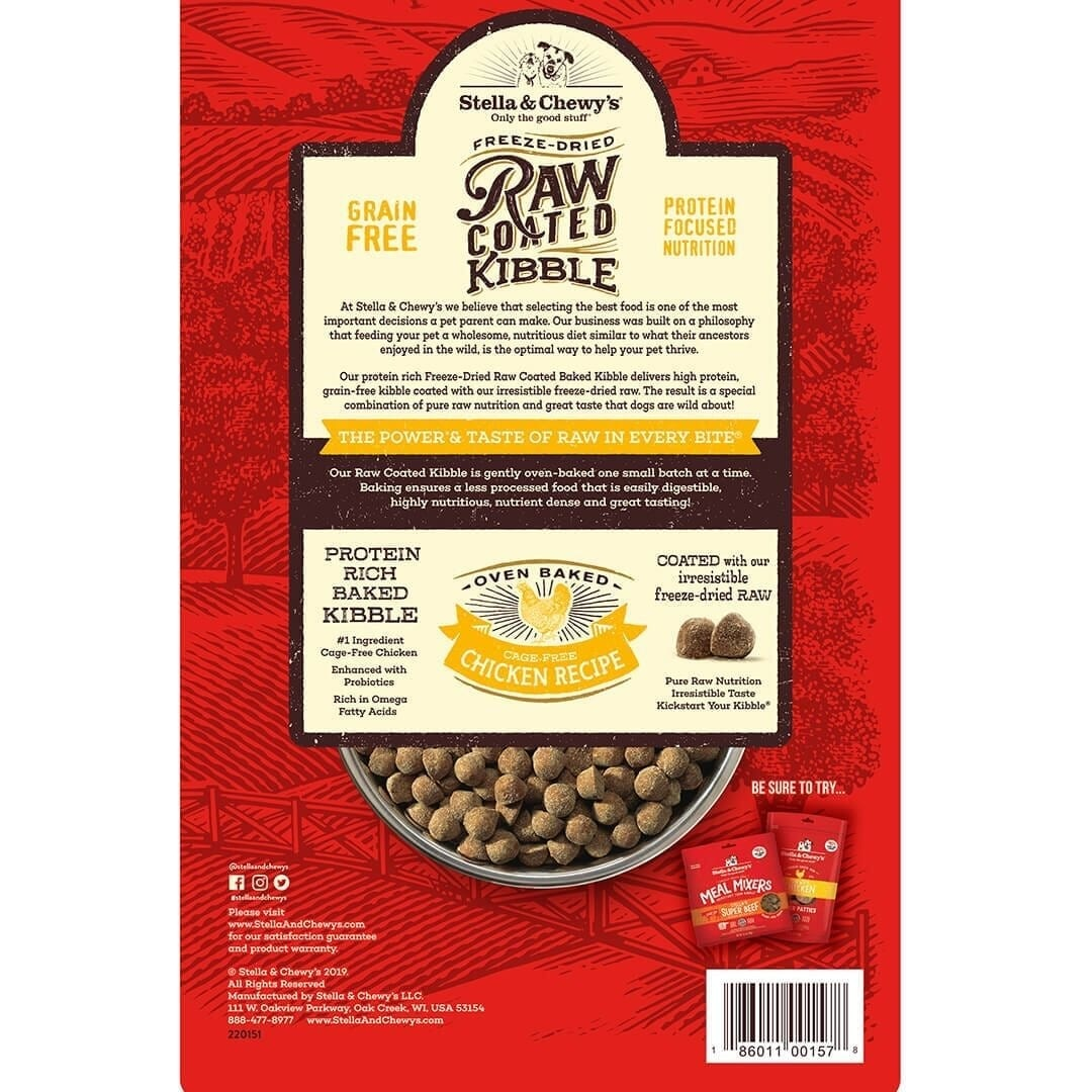Stella & Chewy's Stella & Chewy's Raw Coated Cage-Free Chicken Dry Dog Food