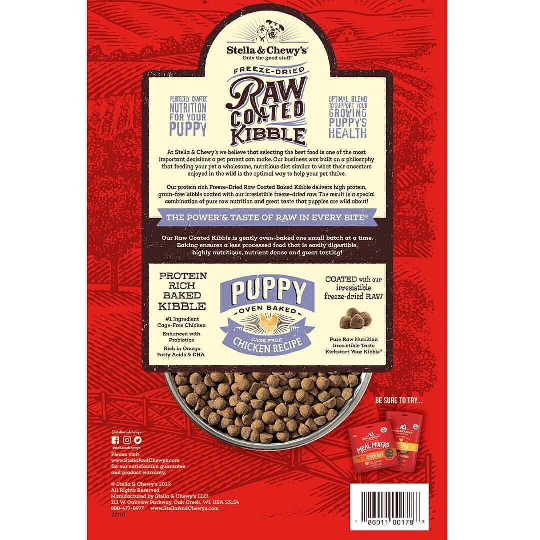 Stella & Chewy's Stella & Chewy's Raw Coated Cage-Free Chicken Puppy Dry Dog Food