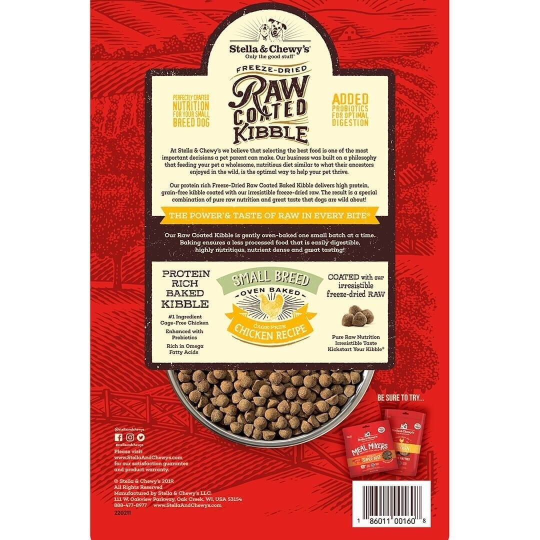 Stella & Chewy's Stella & Chewy's Raw Coated Cage-Free Chicken Small Breed Dry Dog Food