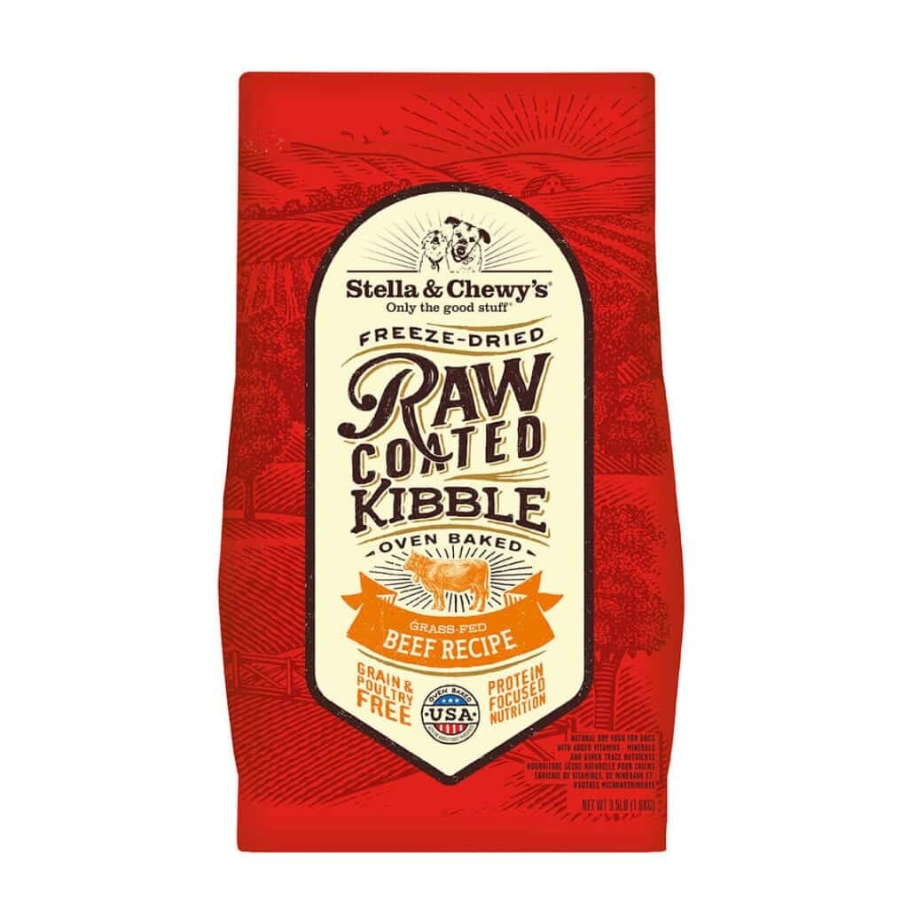 Stella & Chewy's Stella & Chewy's Raw Coated Grass-Fed Beef Dry Dog Food