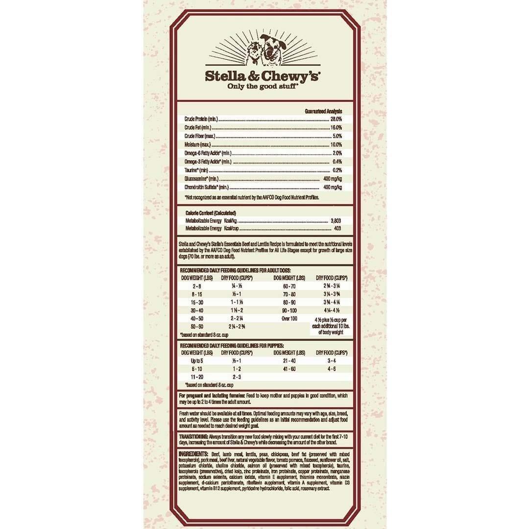 Stella & Chewy's Stella & Chewy's Essentials Grain Free Red Recipe Dry Dog Food