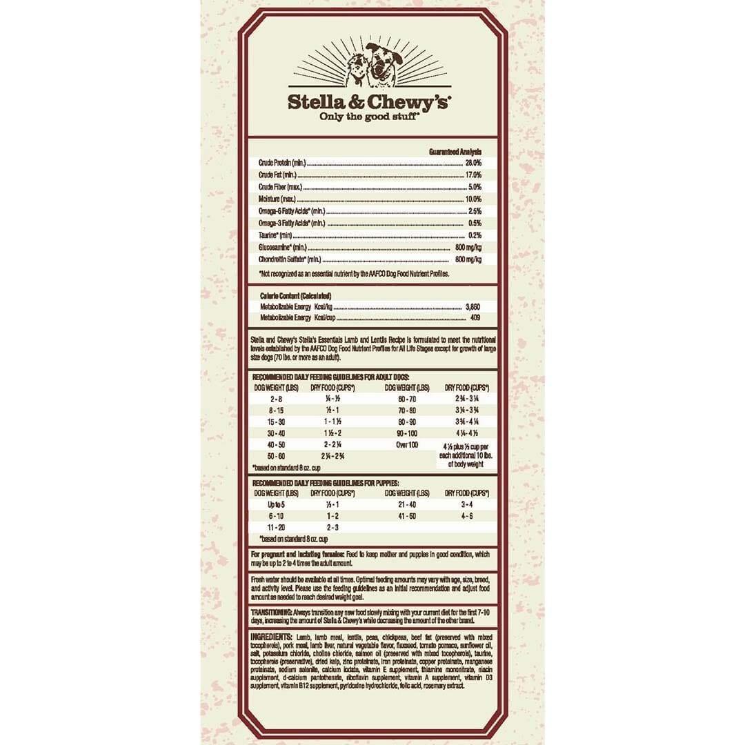 Stella & Chewy's Stella & Chewy's Essentials Grain Free Meadow Recipe Dry Dog Food