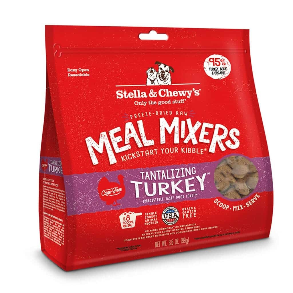 Stella & Chewy's Stella & Chewy's Meal Mixers Tantalizing Turkey Freeze Dried Dog Food