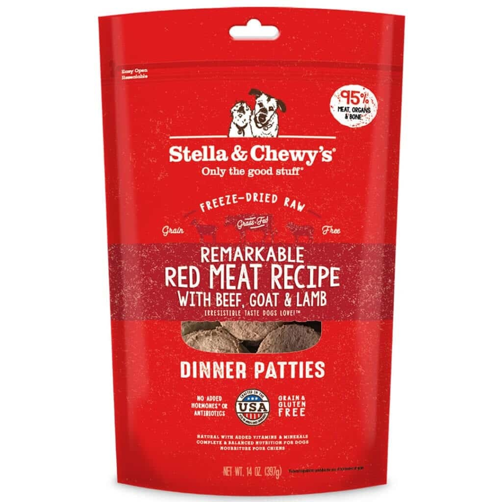 Stella & Chewy's Stella & Chewy's Dinner Patties Remarkable Red Meat Freeze Dried Dog Food
