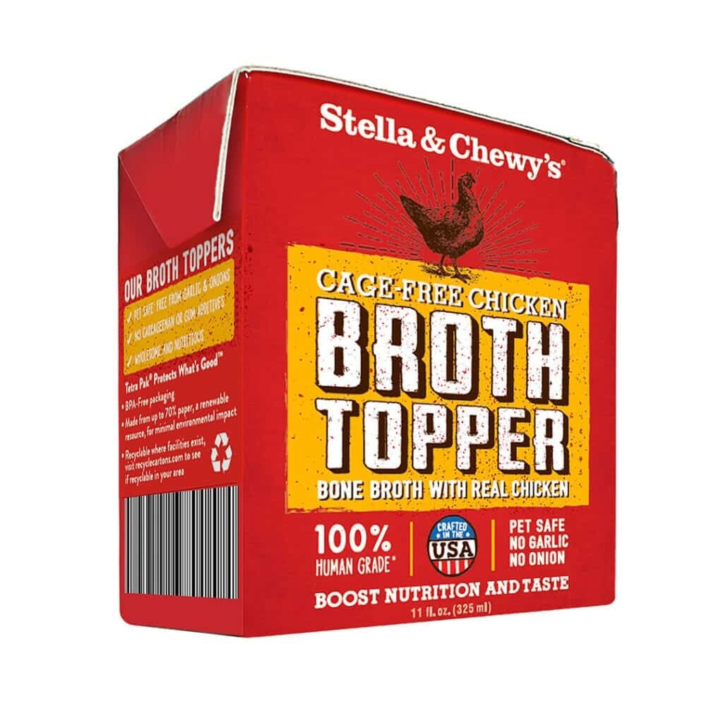 Stella & Chewy's Stella & Chewy's Broth Topper Cage-Free Chicken Wet Dog Food 11oz